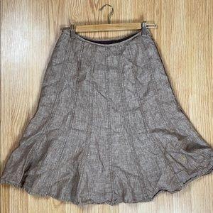 ✨3 for $30✨ Linen-look flared skirt
